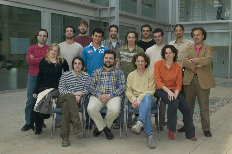 A photo of our group